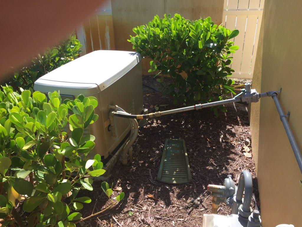 Standby generator problem installation