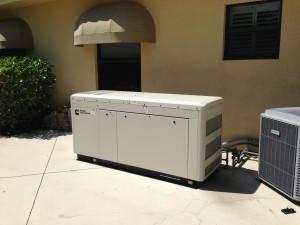 Cummins 40kW Standby Generator Installed