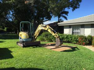 Installing a propane tank in Naples, FL for a Kohler (not Generac) home standby generator.